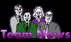 team news newspaper round logo